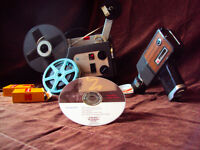 Transfert VHS,Beta,miniDV,8mm,super8,diapositive,vinyle, sur DVD