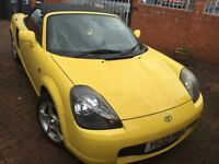 TOYOTA MR2 ROADSTER (2001 PLATE) 1.8 VVTI CONVERTIBLE SPORTS CAR! OFFER NOT TO MISSED!