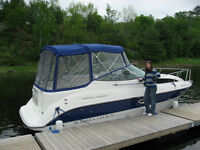 27' White and Royal Blue 2007 Bayliner (immaculate condition)