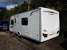 2013 Lunar Clubman SE 4 Berth caravan FIXED BED, MOTOR MOVER, Bargain !!!