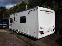 2013 Lunar Clubman SE 4 Berth caravan FIXED BED, MOTOR MOVER, Bargain !!!
