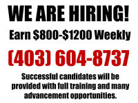 Earn $800-$1200 Weekly With an Exciting New Career
