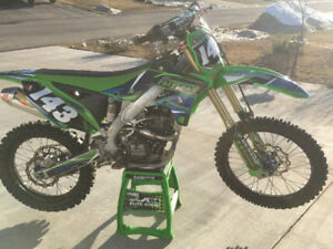 2013 kx250f complete with c4mx race engine