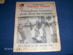 CANADA GOLD SWIMMING-THE MONTREAL STAR OLYMPIC REPORT-7/23/1976