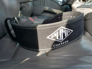 BRAND NEW GENUINE LEATHER WEIGHT LIFTING BELT