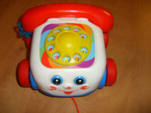 Fisher Price Chatter Phone Pull Toy - Classic Toy