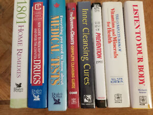Health and wellness books (lot 1)