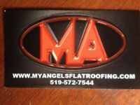 Flat roof or shingles.Repair or replace call for free estimate
