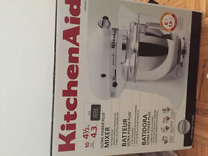 Brand New Kitchen aid Ultra Power Plus Tilt-Head Stand Mixer