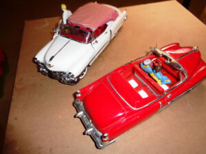 1/24 Diecast Franklin Mint 53 Cadillac Convertible's / Figurines