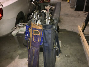 2 Golf Clubs with bags