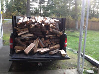 CHOPPED/DELIVERED &STACKED FIR Firewood