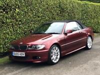 BMW 3 Series 2.0 320Cd Sport 2dr Convertible [2005-05]