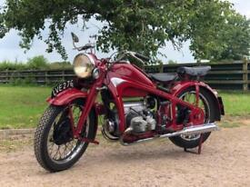 1940 ZUNDAPP KS600 A Very Rare Machine !! Classic German Motorcycle !!