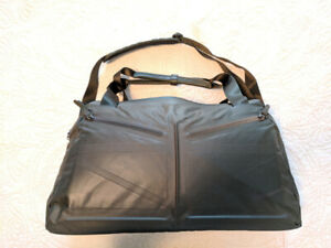 Authentic Nike Duffle Bag - Leather Strap , Laptop Sleeve