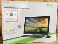 Brand new Acer computer.