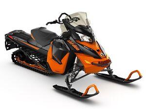 2016 Ski-Doo Renegade Backcountry Rotax 600 H.O. E-TEC Black/Rac