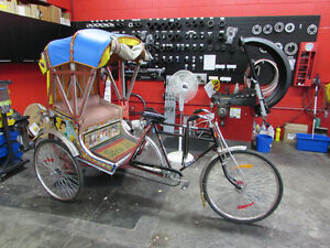 INDIAN RICKSHAW MADE BY NEELAM IMPORTED VERY RARE