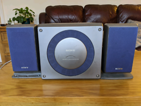 Sony SS-W33D speaker system with subwoofer