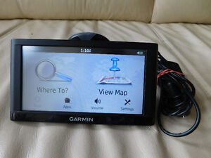 "GARMIN GPS 56LM, 5"" SCREEN, LIFETIME MAP UPDATE."