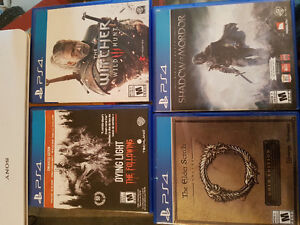 SWEET PS4 GAMES MUST GO!!!