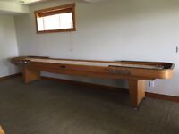 Antique Shuffle Board Table