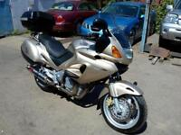 2000 HONDA NT650V DEAUVILLE, SPORTS TOURER, METALLIC GOLD, NICE RIDE