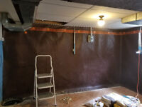 Basement Waterproofing & Drain Repair