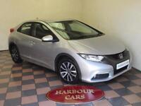 2013 13 Honda Civic 1.6i-DTEC ES, 1 Previous Owner, 45,000 Miles, Zero Road Tax