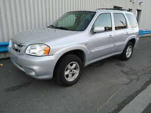 2005 Mazda Tribute 4 cylindres 4x4 Manuel.