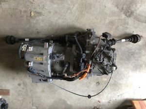 3phase 90hp motor and gearbox