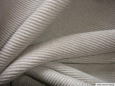 1 Lfm Trikotstoff 4,90€/m² BW   beige FF8