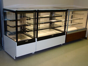 Square Glass Display Cases