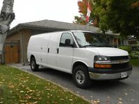 2012 Chevrolet Express Extended wheel base, Van
