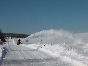 Souffleuse pour VTT / Snowblower for ATV