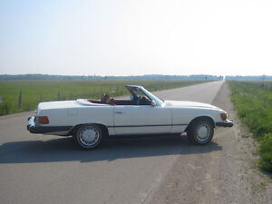 1974 Mercedes 450 SL Convertible