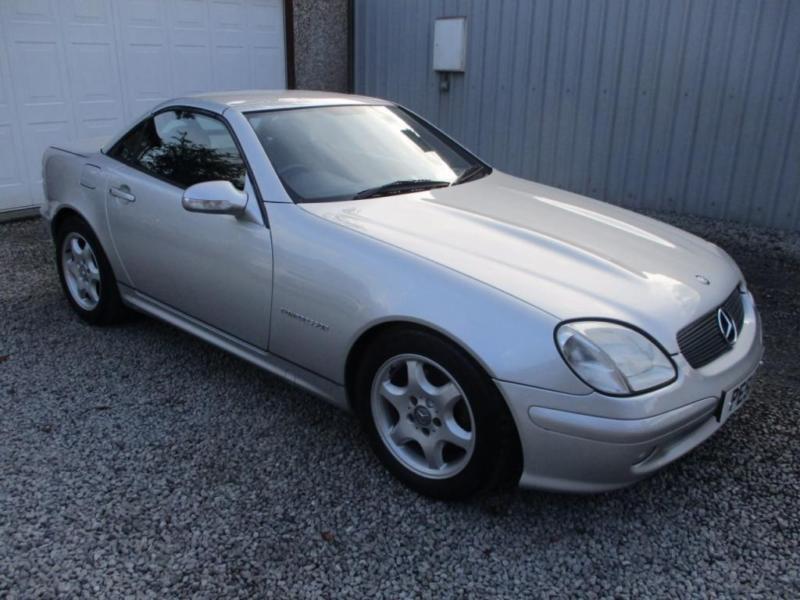 2 Door Convertible >> 2001 Mercedes Benz Slk Slk 230k 2dr Kompressor Convertible 2 Door