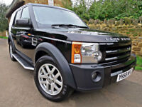 2008 LAND ROVER DISCOVERY 3 2.7 TDV6 AUTO XS. GREAT SPEC !! HSE EXTRAS