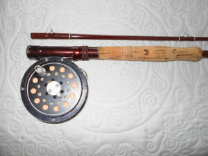 Canne et moulinet a peche a mouche Fenwick, Fly Fishing rod reel