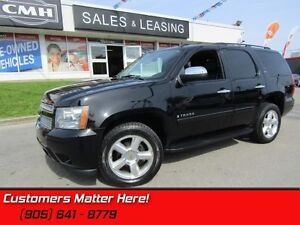 "2008 Chevrolet Tahoe LTZ  4WD, LEATHER, SUNROOF, DVD, 20"" ALLOYS"