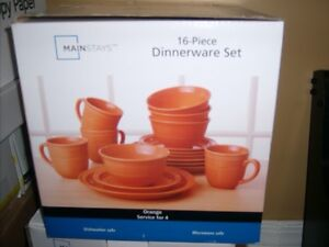 16 Pc Set of Dishes - Brand New in Box