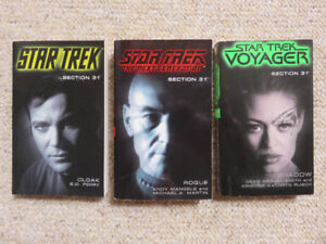 Star Trek: Section 31 Novels - TOS / TNG / VOY