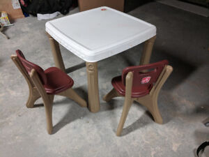 little tykes step 2 table and chairs