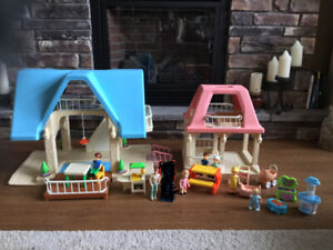 Two little tikes doll houses