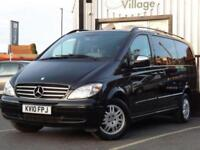 2010 10 MERCEDES-BENZ VIANO 3.0 CDI LONG AMBIENTE 5D AUTO 202 BHP NO VAT ON THIS