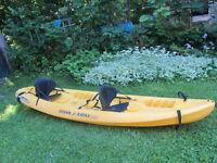 Sit on Top Double Ocean kayak