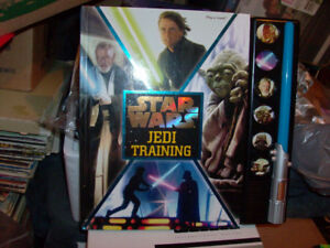 STAR WARS JEDI TRAINING TALKING BOOK