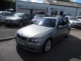 BMW 330D SE TOURING ESTATE DIESEL MANUAL 55reg JUNE 17 MOT FULL HISTORY TIDY