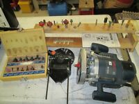 Woodworking tools, Table Saw, Car Jack, and more.