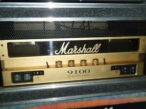 ampli power amps marshall 9100 50/50 a lampe